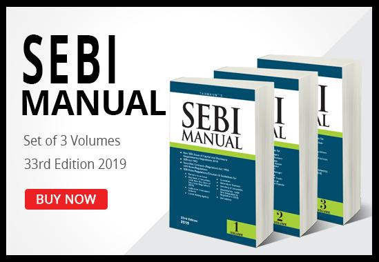 SEBI Manual (Set of Three Volumes)