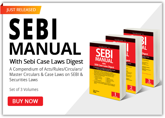 SEBI Manual with Sebi Case Laws Digest
