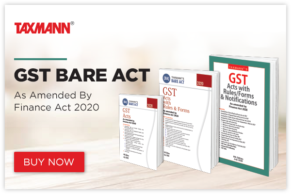 GST Bare Acts Books