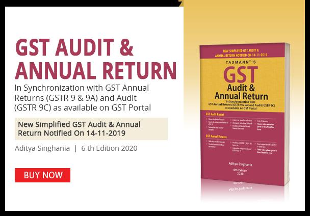 GST Audit & Annual Return