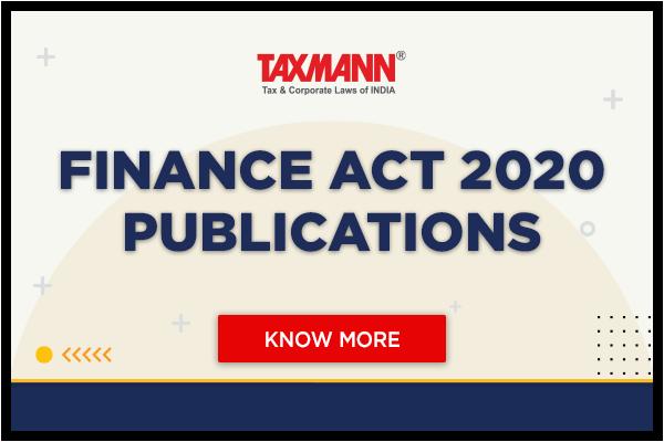 Finance Act 2020 Publications