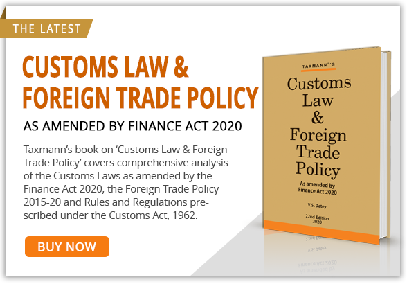Customs law and Foreign trade Policy