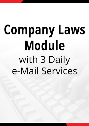 Company Law & Securities Laws with 3 Daily e-Mail Services