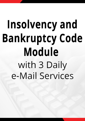 Insolvency & Bankruptcy Code Module - IBC with 3 Daily e-Mail Services