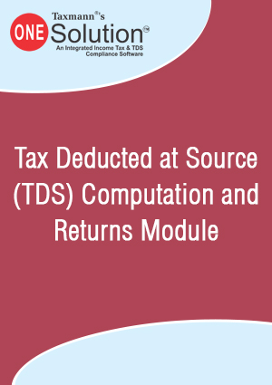 Tax Deducted at Source (TDS) Computation and Returns Module (2018-19)