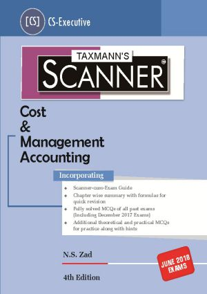 Scanner - Cost & Management Accounting