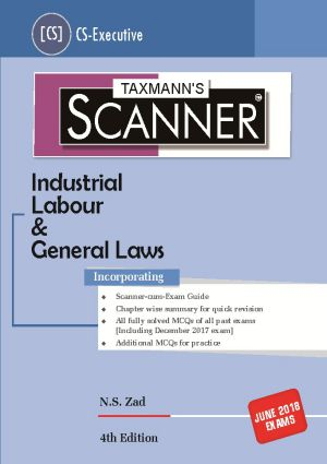 Scanner-Industrial Labour & General Laws (CS-Executive)