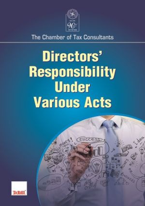 Directors Responsibility Under Various Acts