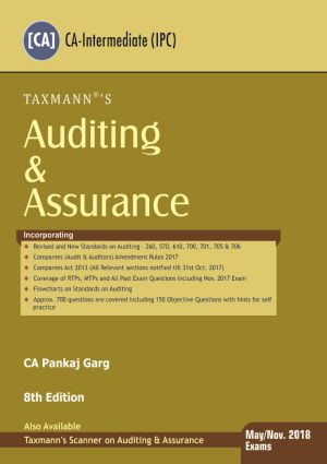 Auditing & Assurance by CA Pankaj Garg (Old Syllabus)