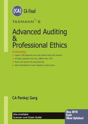 Advanced Auditing & Professional Ethics (CA-Final) by Pankaj Garg [New Syllabus]