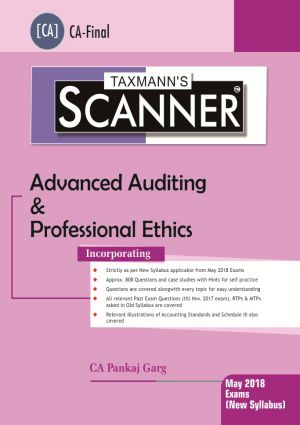 Scanner - Advanced Auditing & Professional Ethics (New Syllabus)