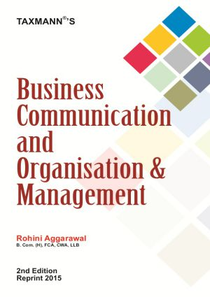 Business Communication and Organisation & Management
