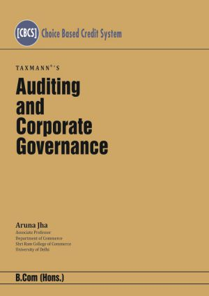 Auditing and Corporate Governance - B com (Hons )
