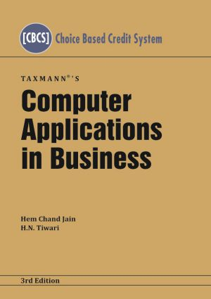 Computer Applications in Business by Hem Chand Jain
