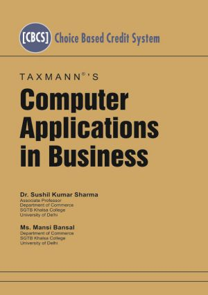 Computer Applications in Business by Sushil Kumar Sharma