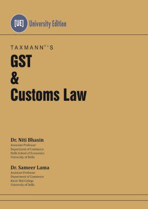 GST & Customs Law by Niti Bhasin
