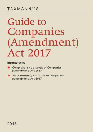 Guide to Companies (Amendment) Act 2017