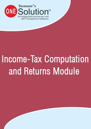 Income-Tax Computation and Returns Module (2018-19)