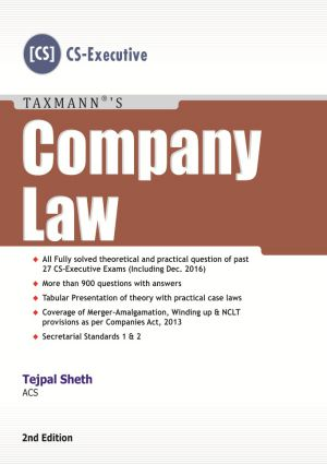 Company Law by Tejpal Sheth
