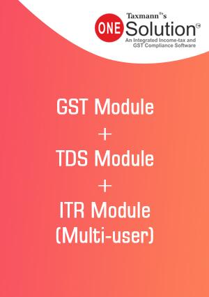 GST Module + TDS Module + ITR Module (Multi-user)