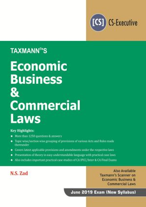 Economic Business & Commercial Laws