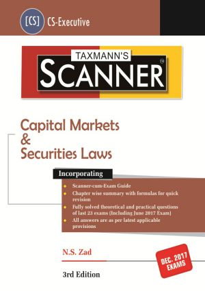 Scanner - Capital Markets & Securities Laws