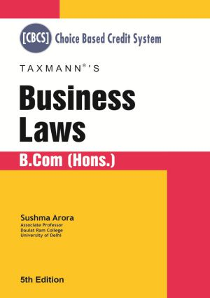 Business Laws - B.Com (Hons.)