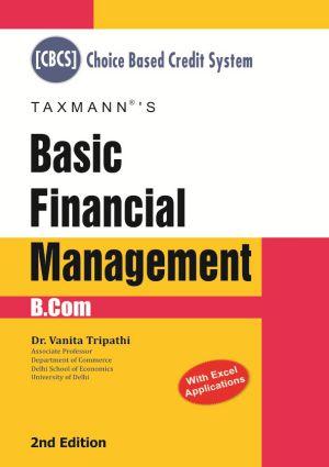 Basic Financial Management by Vanita Tripathi (B.Com)