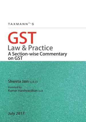 GST Law & Practice by Shweta Jain