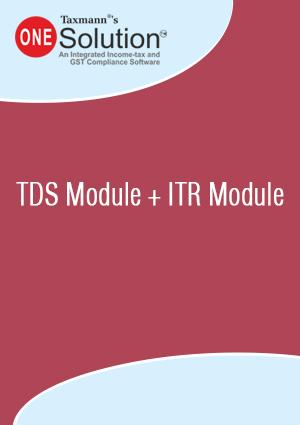 TDS Module + ITR Module (2018-19)