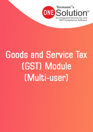 Goods and Service Tax (GST) Module  (Multi-user)
