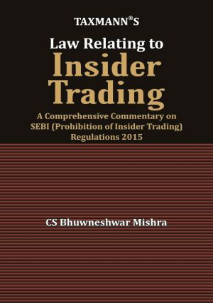 Law Relating to Insider Trading
