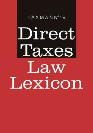 Direct Taxes Law Lexicon