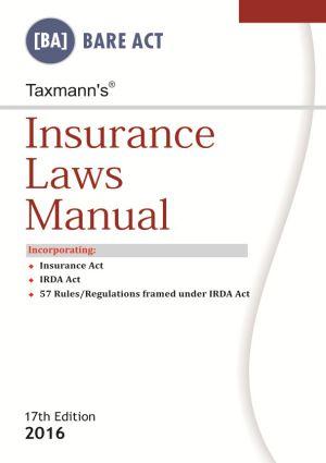 Insurance Laws Manual