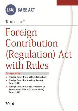 Foreign Contribution (Regulation) Act with Rules (e-book)