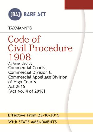 Code of Civil Procedure 1908 (Hardbound)