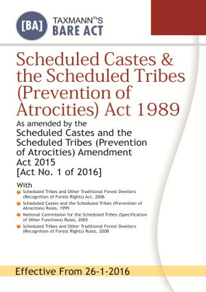 Scheduled Castes & the Scheduled Tribes (Prevention of Atrocities) Act 1989 (e-book)