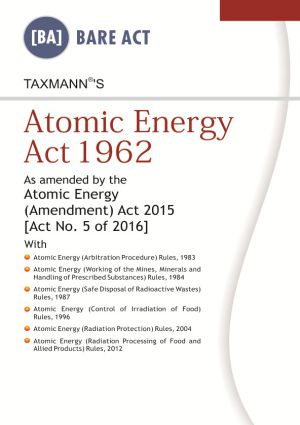 Atomic Energy Act 1962 (e-book)