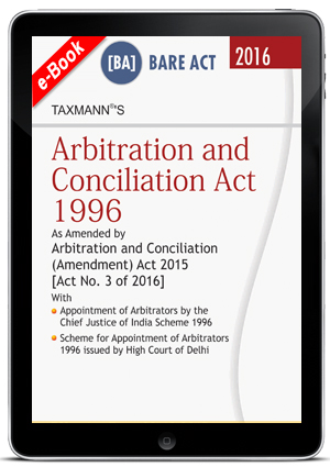 Arbitration and Conciliation Act 1996 (ebook)