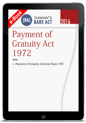 Payment of Gratuity Act 1972 (e-book)