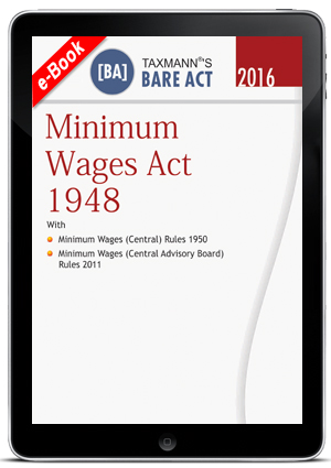 MINIMUM WAGES ACT 1948 (e-book)