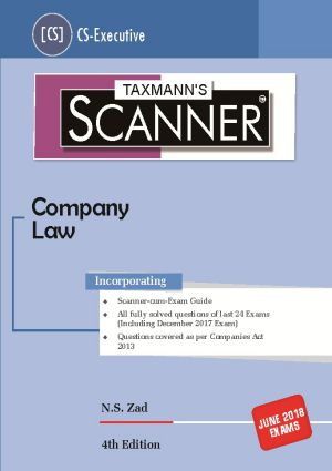 Scanner-Company Law by N.S zad (CS-Executice)