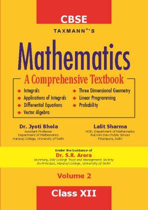 Mathematics- A Comprehensive Textbook (Volume 2)