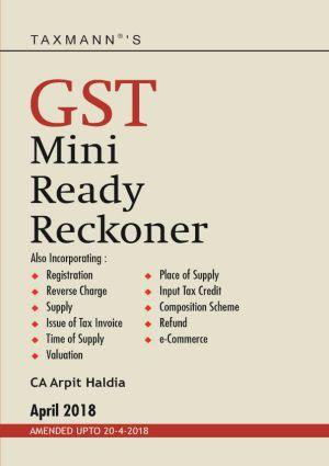 GST Mini Ready Reckoner