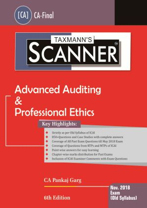 Scanner - Advanced Auditing & Professional Ethics (Old Syllabus)