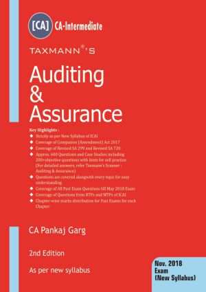 Auditing & Assurance by CA Pankaj Garg (CA-Intermediate)