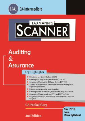 Scanner - Auditing & Assurance by Pankaj Garg - New Syllabus (CA- Intermediate)