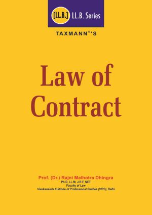 Law of Contract (LL.B Series)