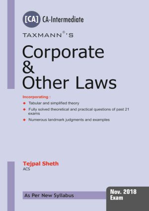 Corporate & Other Laws (Nov.2018 Exam)