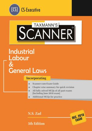 Scanner - Industrial Labour & General Laws (CS-Executive)